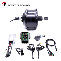Waterproof Color display Eletrica 48v500w Fat Rear Cassette Brushless Hub Motor Snow Conversion Electric Wheel Ebike System