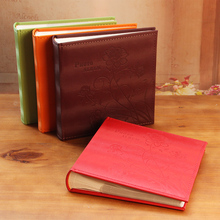 A large 6 inch Type Photo Album Message the 4R 200 Sheets Family 4D Leather Baby Album