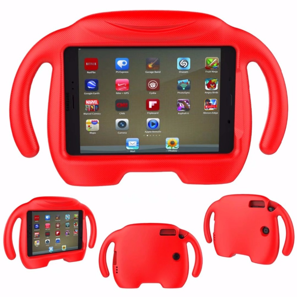 Safe Kid Handle Shockproof Cartoon Protective Tablet EVA Case Cover For Ipad Mini/2/3/4 7.9inch PC