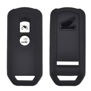 Image 1 - For Honda PCX 150 hybrid X ADV SH125 Scoopy SH300 Forza 125 300 Silicone Motorcycle Scooter Remote Key Case Fob Cover 2 Button