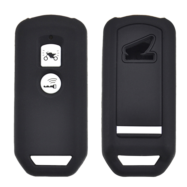 For Honda PCX 150 hybrid X ADV SH125 Scoopy SH300 Forza 125 300 Silicone Motorcycle Scooter Remote Key Case Fob Cover 2 Button