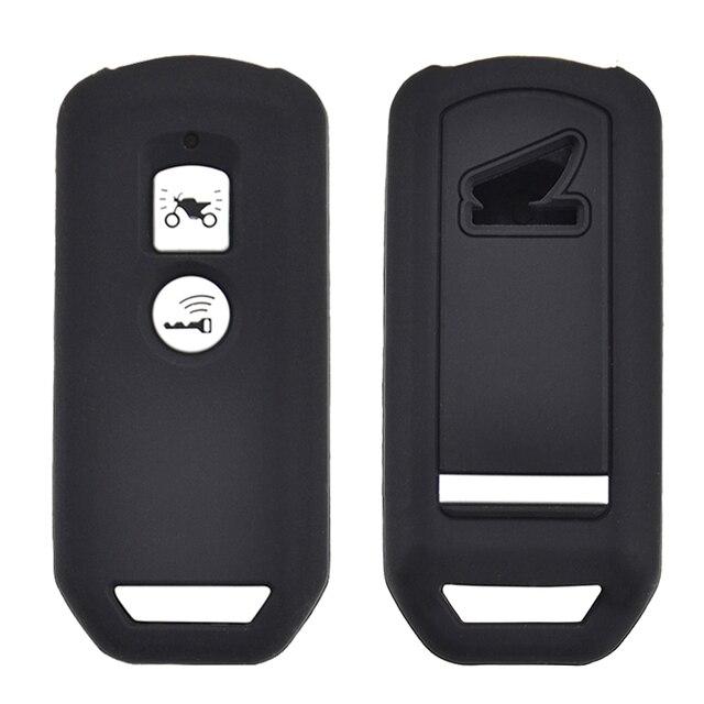 สำหรับHonda PCX 150 Hybrid X ADV SH125 Scoopy SH300 Forza 125 300 ซิลิโคนรถจักรยานยนต์สกูตเตอร์Remote Key Case Fob Cover 2 ปุ่ม
