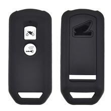 Voor Honda Pcx 150 Hybrid X ADV SH125 Scoopy SH300 Forza 125 300 Siliconen Motorfiets Scooter Remote Key Case Fob Cover 2 Knop