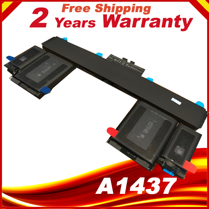 74Wh 11.21V A1437 Battery For Apple MacBook Pro 13