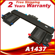 "74Wh 11.21 V A1437 Batterij Voor Apple MacBook Pro 13 ""13.3"" Retina A1425 Late A1437(China)"