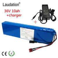 Laudation 36V 10ah elektrische fahrrad batterie pack 18650 batterie pack 500W High Power und Kapazität Motorrad Roller mit BMS