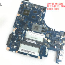 LENOVO NM-A281 LAPTOP Mainboard BRAND NEW Graphic G50-45 Processor Discrete E1 New..aclu5/aclu6
