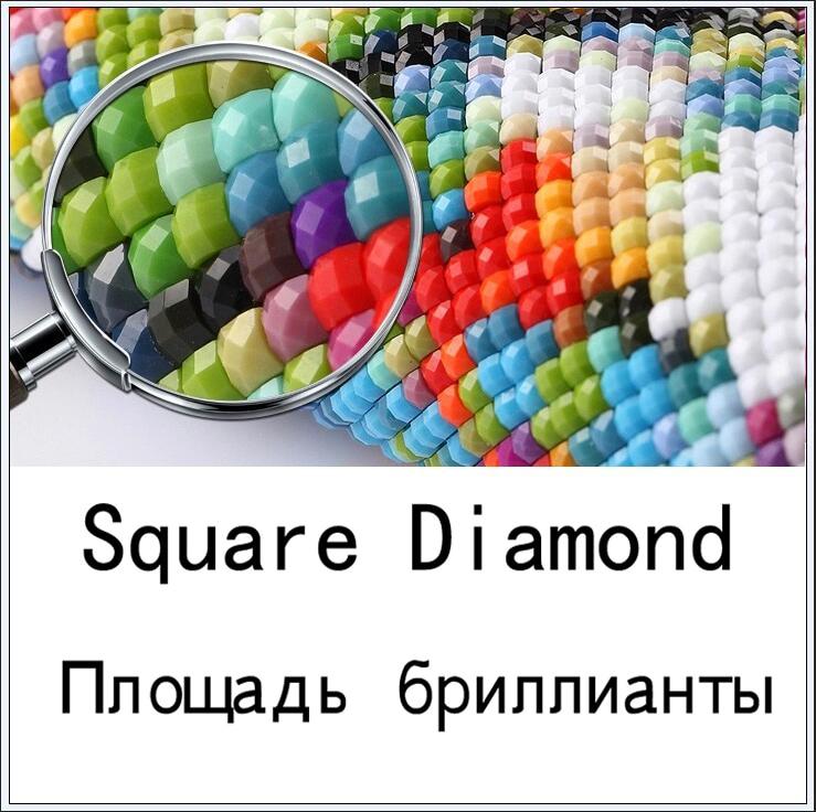 5d алмазная вышивка Сейлор Мун Алмазная вышивка крестиком домашнее украшение с бриллиантами рукоделие - Цвет: Square Diamond