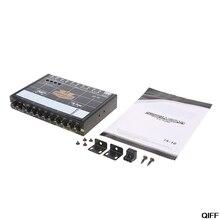 Автомобильный аудио 7 полосным эквалайзером модифицированный автомобильный эквалайзер класса аудиоустройство Автомобильный тюнер May06