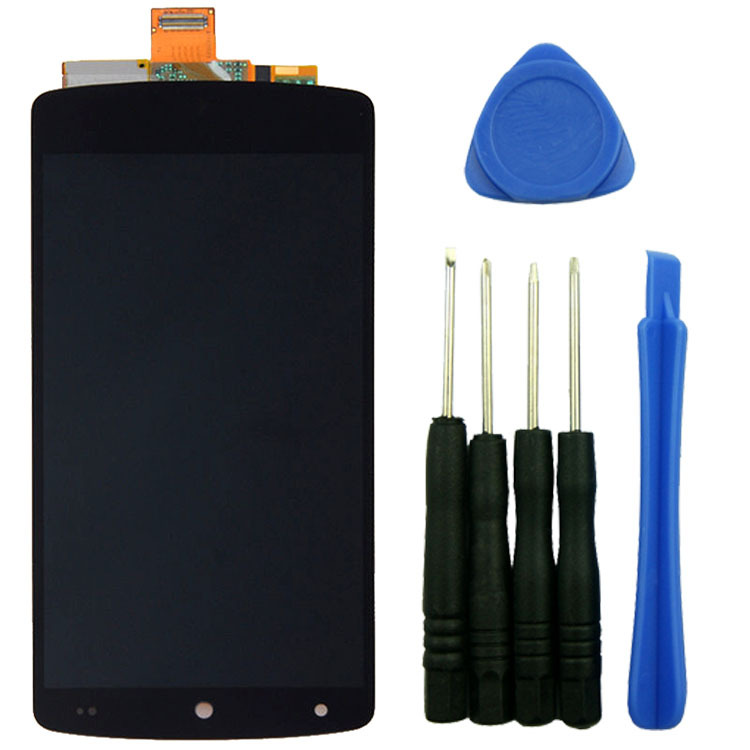 Black LCD Display+Digitizer Touch Screen Assembly Replacement With Tools High Quality For LG Google Nexus5 D820 D821 high quality 5 3 for lenovo s898 s898t lcd display touch screen digitizer assembly replacement tools free shipping
