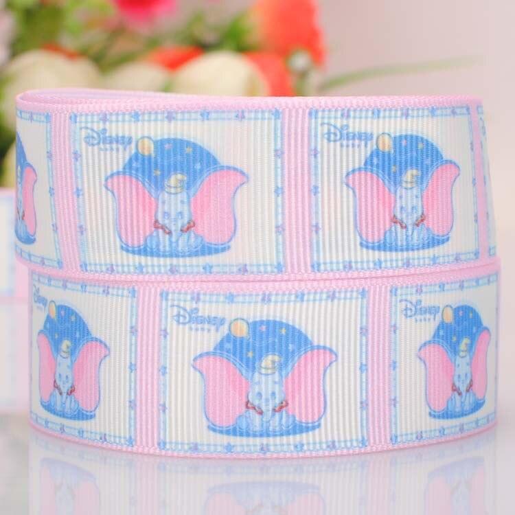 1 m x Cutie Trolls gros-grain Ribbon Craft Hair Bow gâteau Craft 25 mm-UK