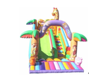 Kids Entertainment Games Commercial Inflatable Slide / pirate ship inflatable dry slide for sale