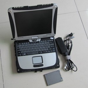 Профессиональный диагностический инструмент Mb star c4 sd Подключение с ноутбуком жесткая книга CF-19 последняя версия 360G SSD быстрое 2020,06 программ...