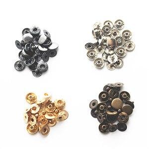 40 наборов 655 кнопочных черных никелевых 1 см кнопочных застежек для ручного багажа diy аксессуары 4 вида цветов + ручной инструмент