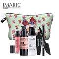 Kit de navidad Juegos de Maquillaje 5 unids/set Blanqueamiento Fundación Hidratante y Cejas Pluma y Lápiz Labial de Ojos Face Make up Tool Set