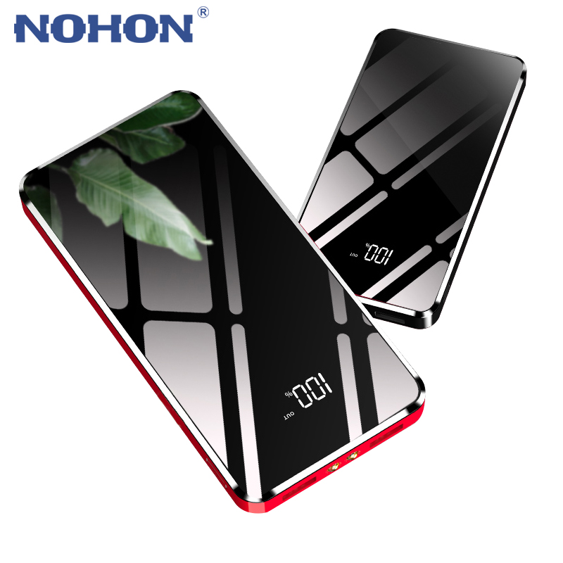 Automobiles Expressive Nohon 20000mah Dual Usb Power Bank For Iphone Lg Android Digital Display Noble External Battery Phone Charger With Led Lighting Cadillac