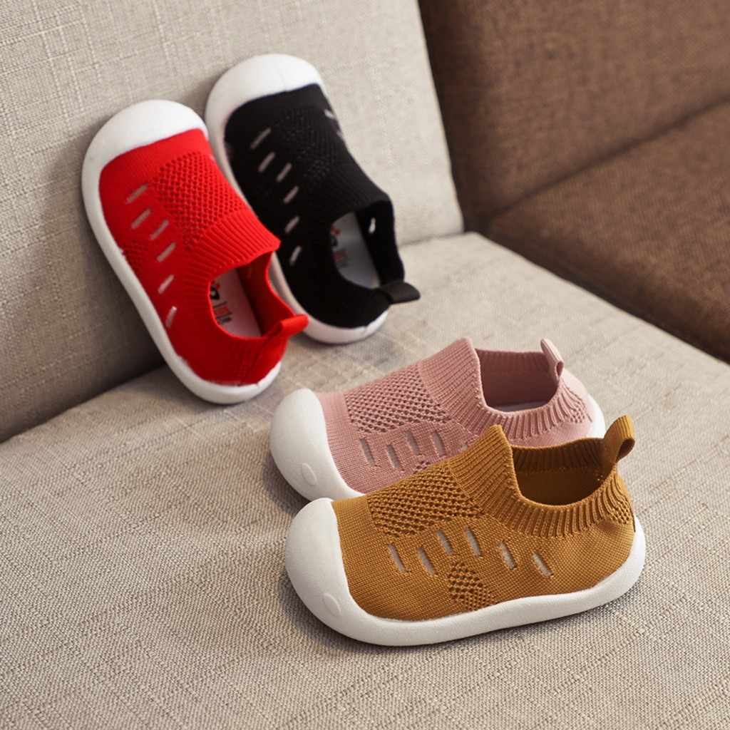 Maluch niemowlę dzieci dziewczynek chłopców cukierki kolor siatki sportowe casualowe buty do biegania dla chłopców trampki chaussure garcon enfant # PY25