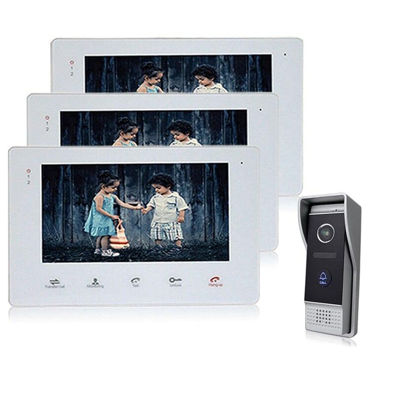 Homefong 7 TFT HD дверной звонок с камера охранных проводной монитор видео телефон двери дверные звонки домофон системы