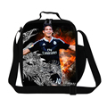 James Rodriguez Thermal Lunch Bags for Kids Children's Lunch Container for school,personalized insulated lunch bags for men work