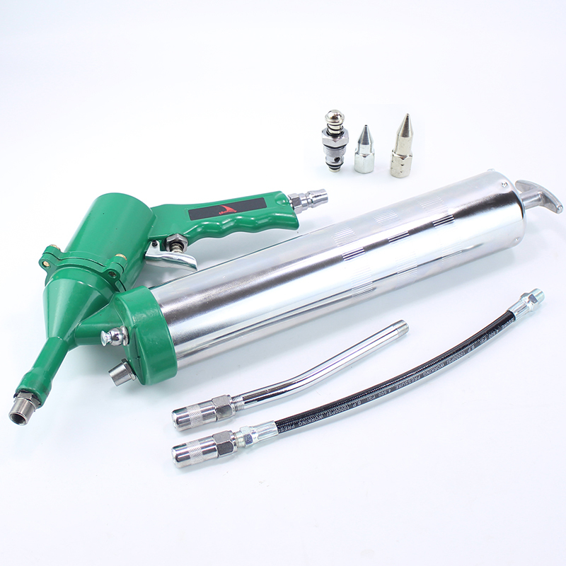 400CC Professional Pneumatic Grease Gun Repeating Air Operated Grease Gun Tool