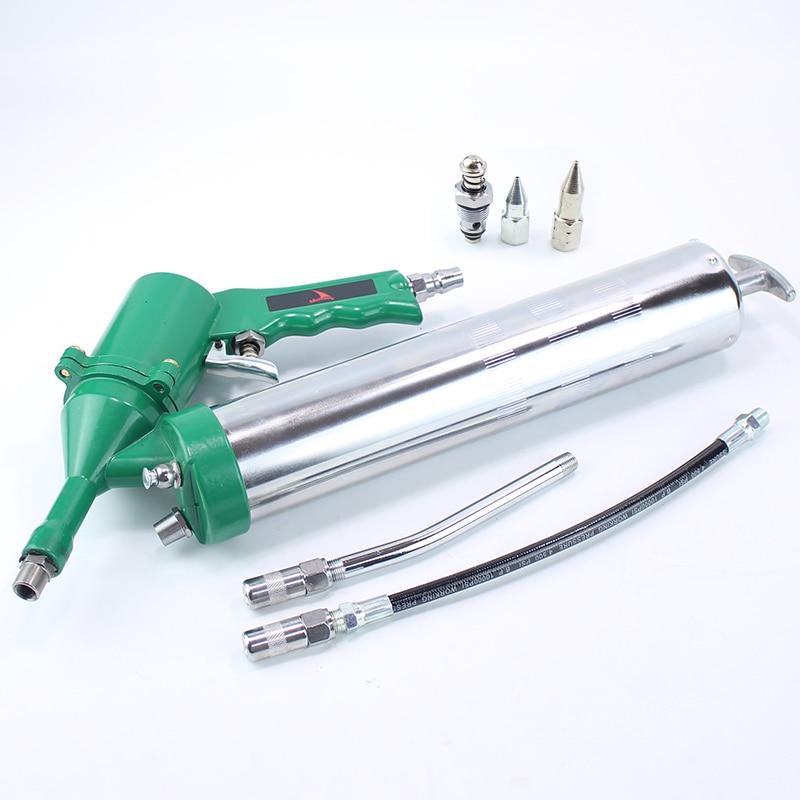 400CC Professional Pneumatic Grease Gun Repeating Air Operated Grease Gun Tool цена