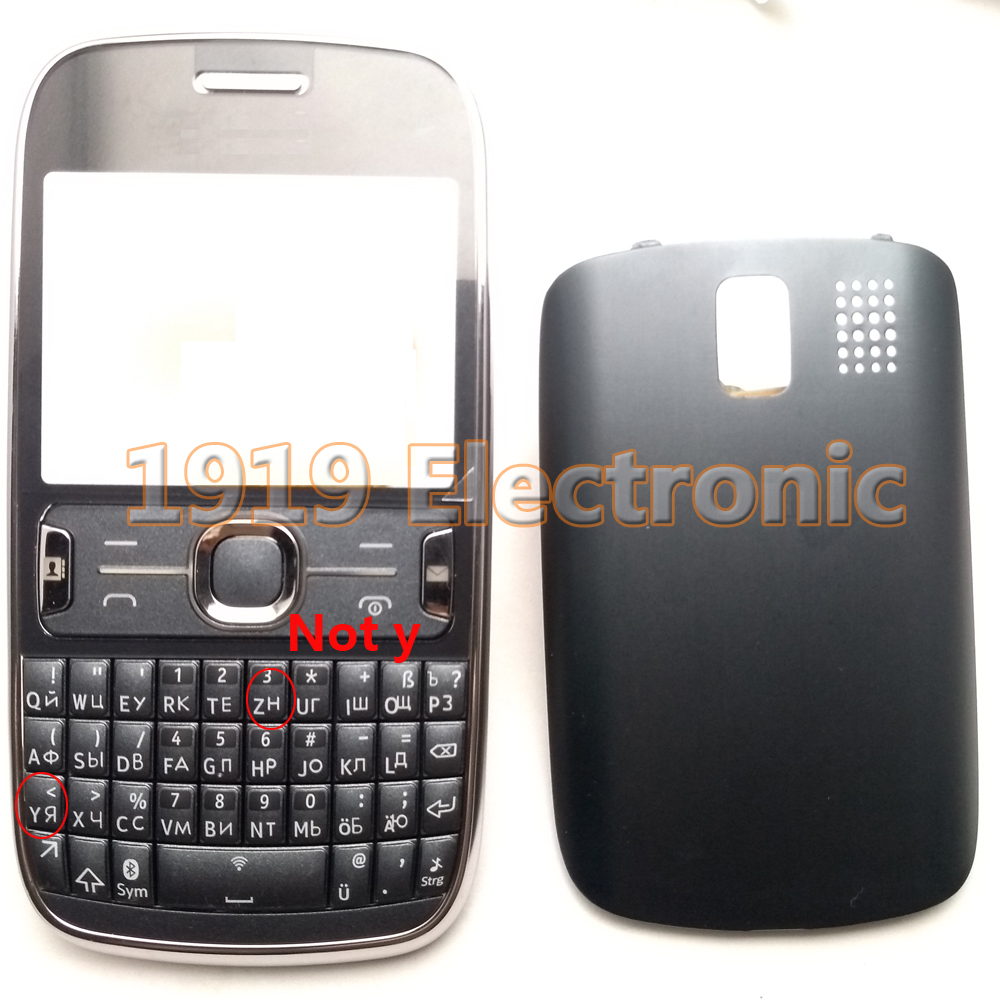 Case Housing-Cover Nokia Asha Phone Not-Middle New for 302/houisng with English Russian-Keypads