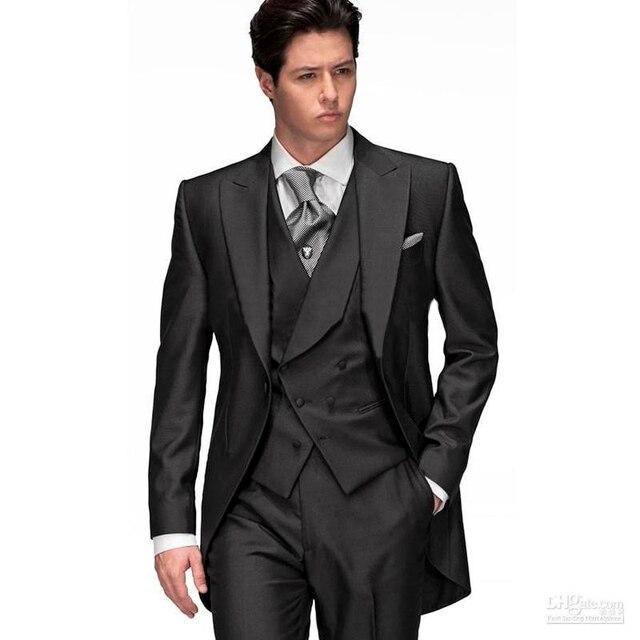Hot Sale 2018 New Modern Men\'s Gentleman Black Men\'s Dress Prom ...
