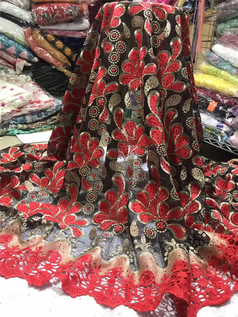 African Guipure Lace Fabric 2019 High Quality French Lace Fabric With Stones Embroidery Lace Fabric For Women Dress 1817African Guipure Lace Fabric 2019 High Quality French Lace Fabric With Stones Embroidery Lace Fabric For Women Dress 1817
