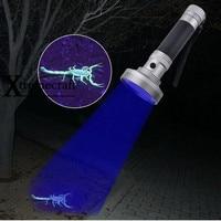 Xtremecraft סופר 100LED אור UV 395-400nm LED UV פנס לפיד אור מנורת Uv