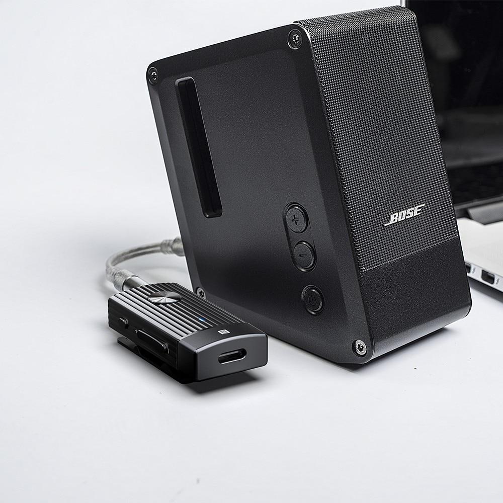 FiiO BTR1K Sports Bluetooth amplifier 5 0 Audio Receiver with  APTX/AAC/APTXLL Support NFC Pairing USB DAC and Type C Port