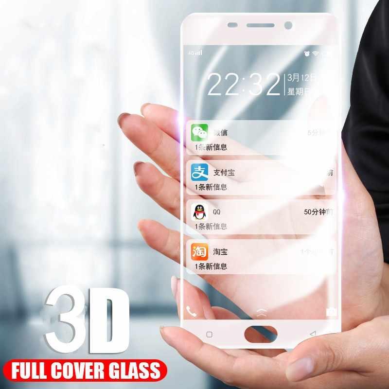 20 قطعة/الوحدة غطاء كامل المقسى زجاج عليه طبقة غشاء رقيقة لسامسونج A9 A8 زائد A7 A6 زائد J8 J4 J2Pro J7 J6 J2 2018 J5 واقي للشاشة 3D