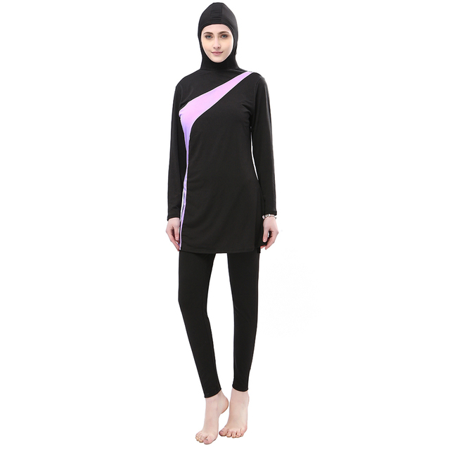 110d04f6356de Muslim Swimwear Women Islamic Swim Wear Plus Size Ladies The Modest Bathing  Suit Muslim Swimming Suit Islam Full Cover Clothes