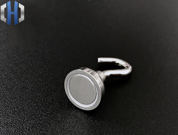 Super Suction Strong Magnet Round Ring Suction Cup Outdoor Outdoor Hook Key Pendant