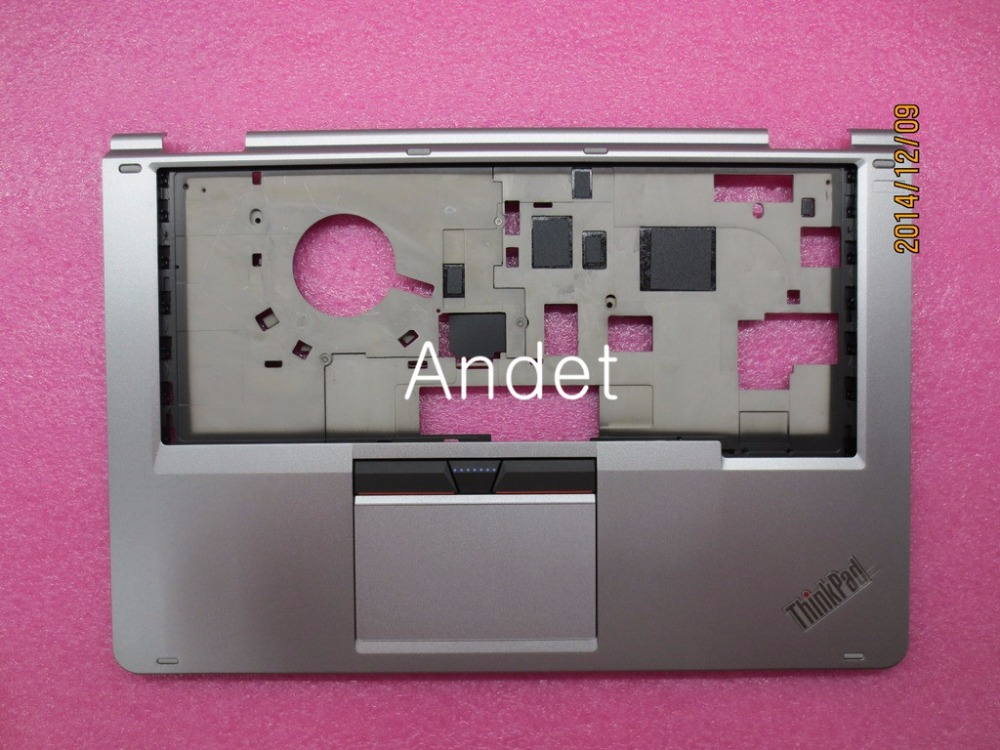 New Original for Lenovo ThinkPad Yoga 14 Palmrest Keyboard Bezel Upper Case Cover W/ TP Touchpad 3+2 W/O FPR Silver 00HT615 new original for lenovo thinkpad l530 palmrest cover with touchpad fingerprint 15 6 keyboard bezel upper case 04x4617 04w3635