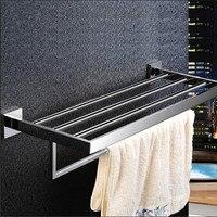 Stainless Steel 304 Bathroom Towel Rack Double Bath Towel Holder Shelf Bathroom Towel Holder Shelf Chorm