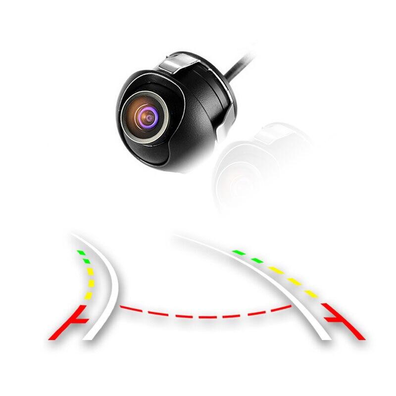 WEIVISION 360 grados trayectoria dinámica guía móvil línea de aparcamiento cámara de visión trasera HD resistente al agua asistencia de aparcamiento reverso