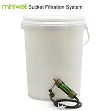 Miniwell Persoonlijke Camping Water Filter Stro Voor Nood en Survival Kit