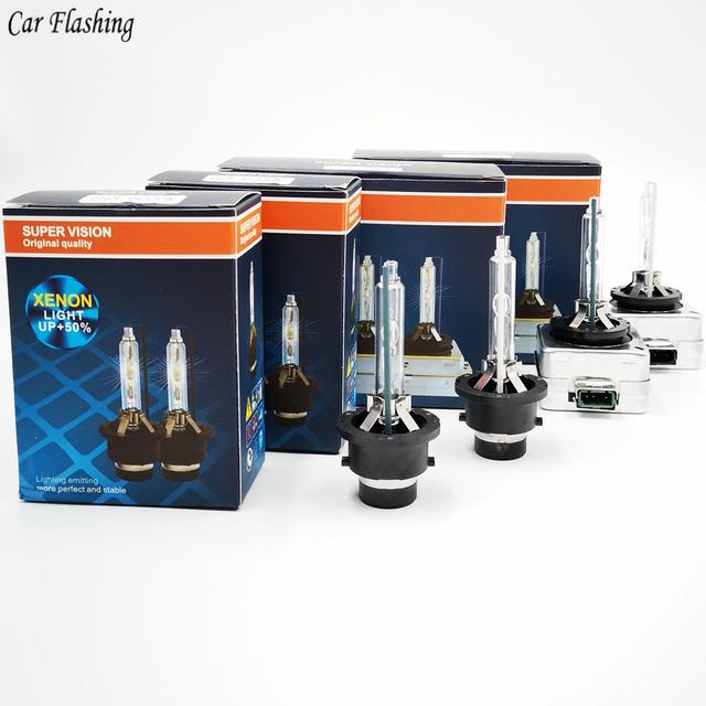 Car flashing 2pcs D1S D2S D3S D4S 4300K 5000K 6000K 8000K 10000K HID Bulbs CBI HID xenon headlight bulb D1R D2R D3R D4R headlamp