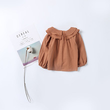 Sweet baby girls blouse autumn long sleeve