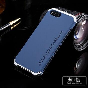Cho Xiaomi Mi6 Trường Hợp Luxury Nhôm Kim Loại Khung Đối Xiaomi Mi6 Mi 6 Nhựa Cover Quay Lại Cho Xiaomi Mi6 Capa Fundas