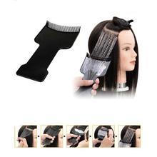1PC Hairdressing Comb Pro Salon Black Hair Brushes Styling Tools Professional Anti-statische board baked oil care picking comb W3