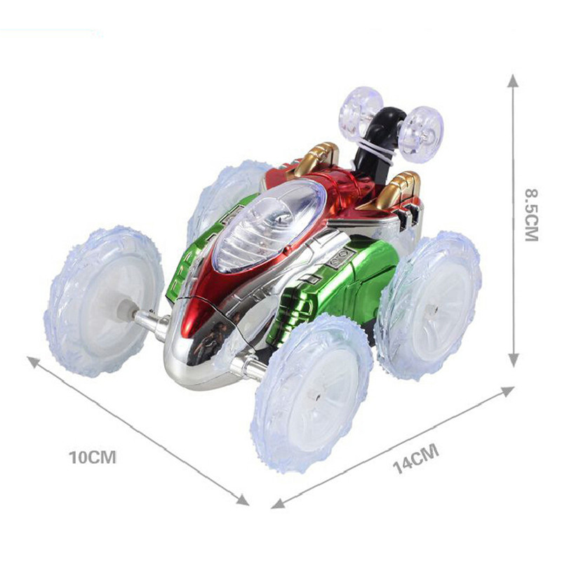 Remote Control 360° Stunt LED Lighting Car Toy For Boy Girl Kid Christmas Gift