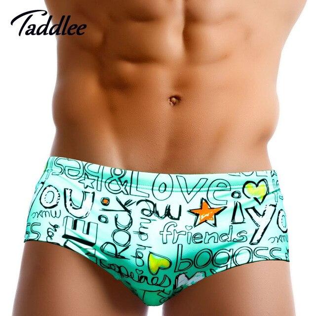 6715f73ba84a6 Taddlee Brand New Men Swimwear Swimsuits Swim Bikini Briefs Sexy Mens  Swimming Surf Brazilian Classi Cut Shorts Trunks Low Waist