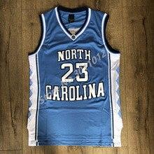 bcb149c1764 2019 New Mens #23 Michael Jordan North Carolina UNC Tar Heels College  Basketball Jersey S