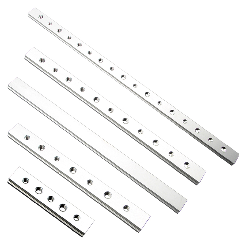 450mm T Track Slot Sliding Slab Slide Block Aluminium Alloy Woodworking Tool Slider Table Saw Miter Gauge Rod Tools