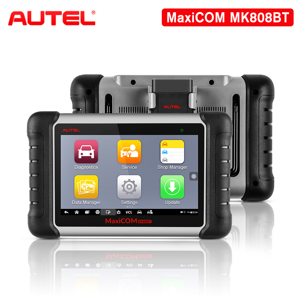 Autel MK808BT OBD2 Scanner Car Diagnostic Tool Key Programmer OBD2 Wifi Car Tool Diagnosis Functions Of EPB/IMMO/DPF/SAS/TMPS