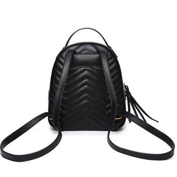f837b8da87d4 Sac dos femme бренд для женщин рюкзак высокое качество кожа рюкзаки для  подростков обувь девочек женская школьная сумка mochila