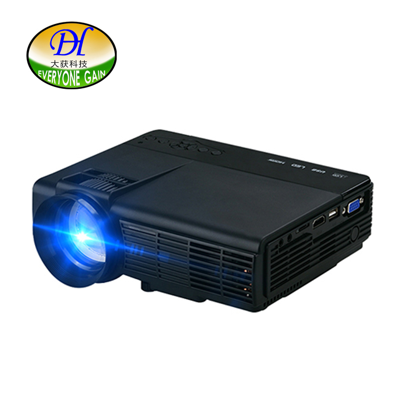 Everyone gain projector full hd android wifi led portable for Portable video projector