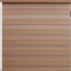Darmowa wysyłka zasłony Sheer roleta Zebra z niestandardowymi rozmiarami i dwuwarstwowa rolowana tkanina Windows dolna otwarta