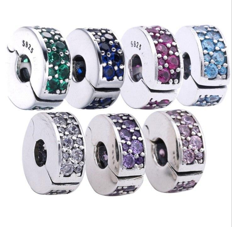 2019 Echt Großhandel 100% Sterling 925 Mode Schmuck, Die Diy Name Perlen Für Cz Kompatibel Mit Original-charms-armband